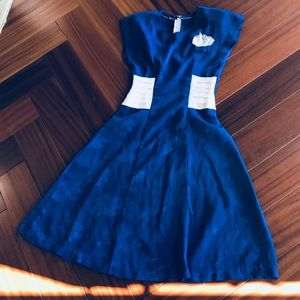 Vintage 40s style dress